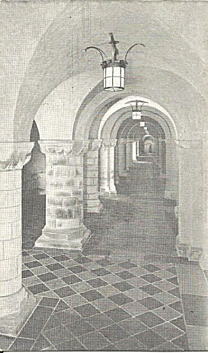 Washington Dc Cathedral So Aisle Nave Crypt P37564