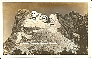 Mount Rushmore National Memeorial Rppc P37583