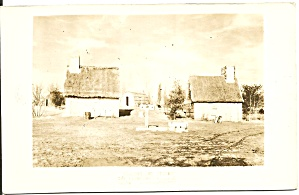 Salem Ma Pioneer Village Pillory Stocks Rppc P37584