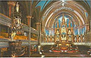 Montreal Norte Dame Basilica Main Altar p37626 (Image1)