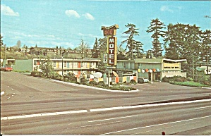 Seattle Washington Imperial 400 Motel P37635