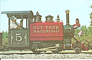 Vacaville Ca Nut Tree Railroad Engine P37637