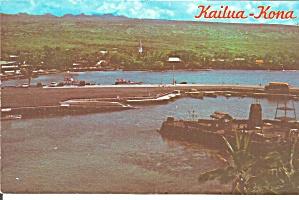 Kailua Kona HI  Postcard p37641 (Image1)