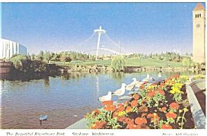 Riverfront Park Spokane WA Postcard p3765 (Image1)