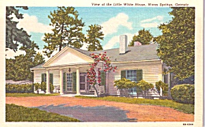 Little White House Warm Springs Ga P37670