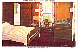 Fdr Bedroom Little White House Warm Springs Ga P37671