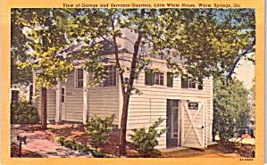 Garage Little White House Warm Springs GA p37672 (Image1)