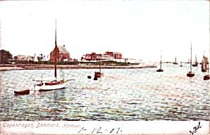 Harbor  Copenhagan Denmark P37718 1907 (Image1)