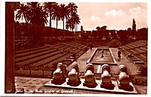 Moor Garden at Guerireh Cario Egypt P37722 (Image1)