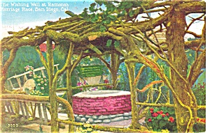 Romona's Marriage Place San Diego CA Postcard (Image1)