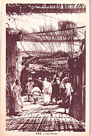Les Souks Marketplace Morocco P37833 (Image1)