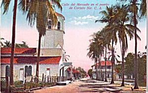Calle  del Mercado en el puerto de Corinto Nicaragua P37837 (Image1)