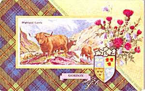 Clan Crest Gordon Scotland P37855