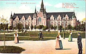Stockholm Sweden Nordiska Museum P37863 (Image1)