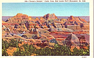 Badlands National Monument Sd Dante S Delight Postcard P37914