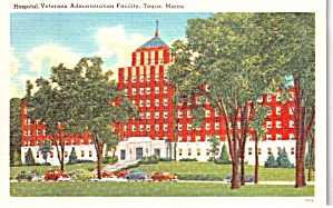 Togus Maine Veterans Administration Hospital Postcard P37919
