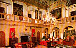 Sarasota FL John Ringling Residence Great Hall  P37993  (Image1)