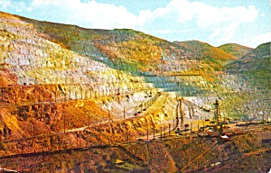 Bingham Canyon UT Bingham Copper Mine Postcard P38000 (Image1)