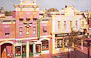 Disneyland Upjohn Pharmacy Postcard P38007 (Image1)