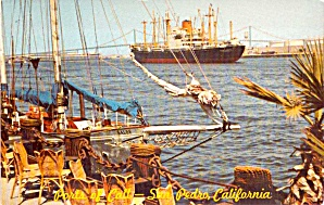 San Diego CA Ports of Call Village Postcard P38010 (Image1)