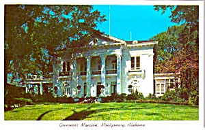 Governors Mansion Montgomery Alabama P38017