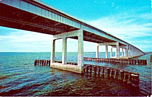 Pensacola Bay Bridge Pensacola Florida P38018