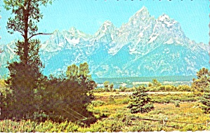 Grand Teton Jackson Hole Wyoming P38028