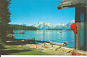 Jackson Lake and Teton Range Wyoming P38029 (Image1)