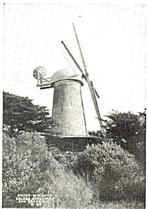 Dutch Windmill Golden Gate Park Photo (Image1)