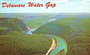 The Famous Delaware Water Gap Gateway To Poconos Pa P38068
