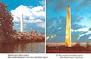 Washington Monument Day and Night Washington DC p38069 (Image1)