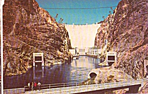Below Hoover Dam Postcard P38075