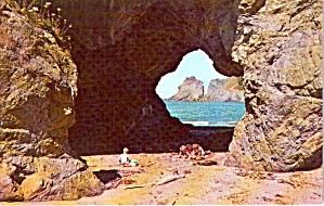 Sea Cave Washington Seacoast P38083 (Image1)
