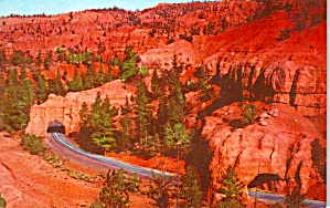Tunnels in Red Canyon Utah P38118 (Image1)
