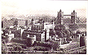 Tower Of London And Tower Bridge London P38184
