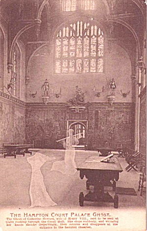 The Hampton Court Palace Ghost Postcard P38188