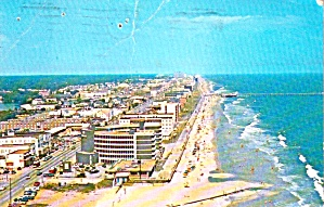 Virginia Beach Virginia Aerial View P38262
