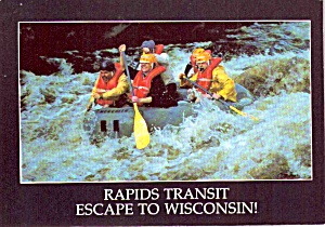 Escape To Wisconsin Rapids Transit Tourism Advertising P38273