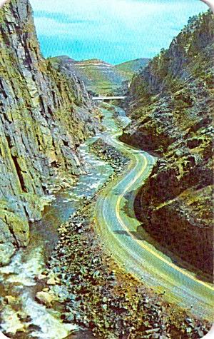 Big Thompson Canyon Colorado P38295 (Image1)