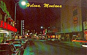 Helena Montana Last Chance Gulch at Night p38323 (Image1)