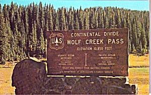 Continental Divide Wolf Creek Pass Colorado p38339 (Image1)