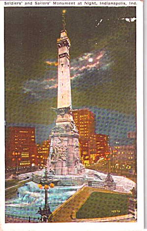 Soldiers And Sailors Monument Indianapolis In P38357