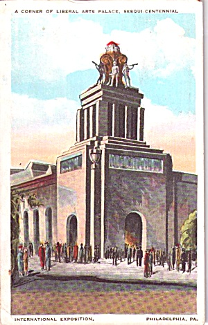 Liberal Arts Palace Sesqui-Centennial Exposition p38402 (Image1)