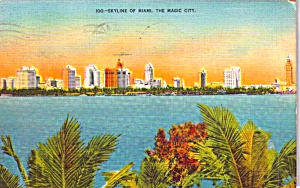 Miami FL Skyline p38448 (Image1)