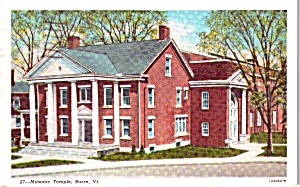 Barre Vermont Masonic Temple p38466 (Image1)