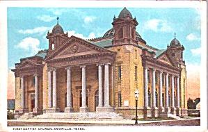 Amarillo TX First Baptist Church p38485 (Image1)