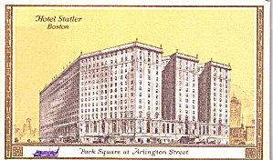Boston Ma Hotel Statler Park Square P38489