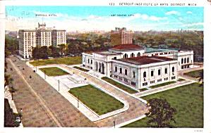 Detroit MI Institute of Art Postcard p38518 (Image1)