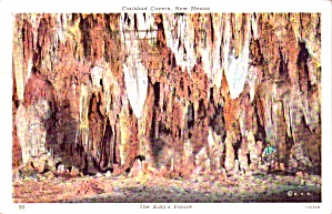 Carlsbad Caverns National Park Nm King S Palace P38520