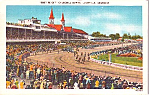 Churchill Downs Louisville Kentucky P38554